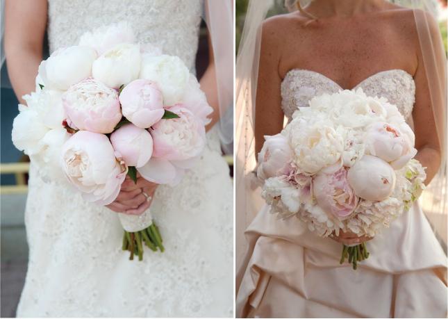 Image Credit L R Traditional Arkansas Wedding Via Style Me Pretty California Gardem