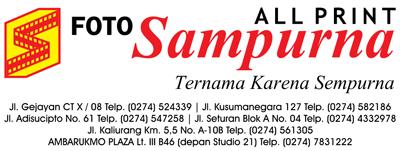 Lowongan Kerja di Foto Sampurna - Yogyakarta (Operator