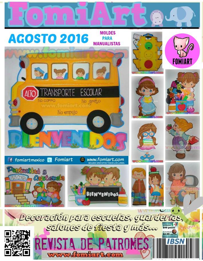 Revista de Agosto 2016 ¡Adquiérela!