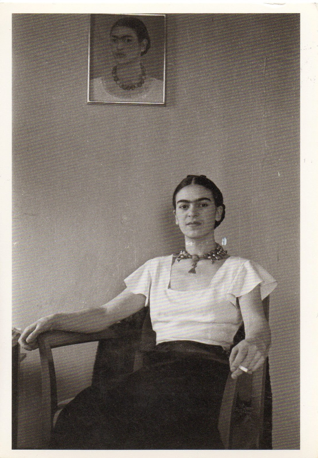 Frida Kahlo at the Barbizon Plaza Hotel, 1932. Photographed by ...