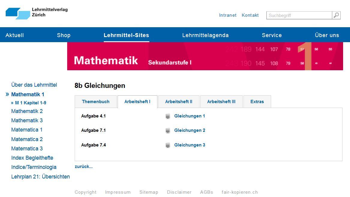 Materialien für den Unterricht: Online-Übungen und Arbeitsblätter ...