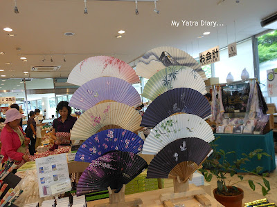 Souvenir shop to the Meiji Jingu Shrine, Tokyo