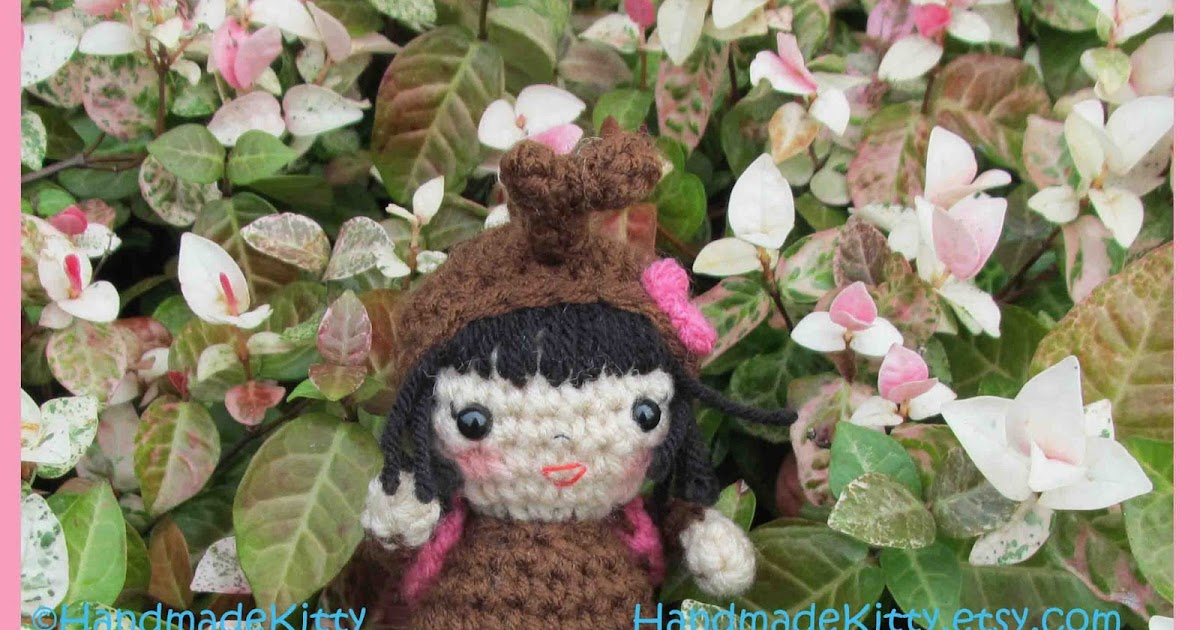 Onigiri Couple Amigurumi Free Crochet Pattern : HandmadeKitty: Japanese KabutoMushi Girl Doll Amigurumi ...