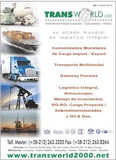 TRANSWORLD 2000, c.a. en Paginas Amarillas tu guia Comercial