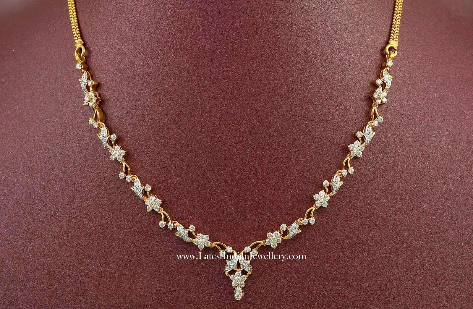 Latest Indian Diamond Necklace Designs