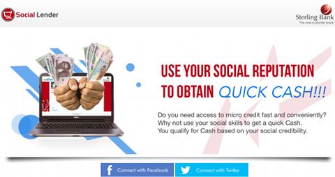 Social Lender (Sterling Bank)