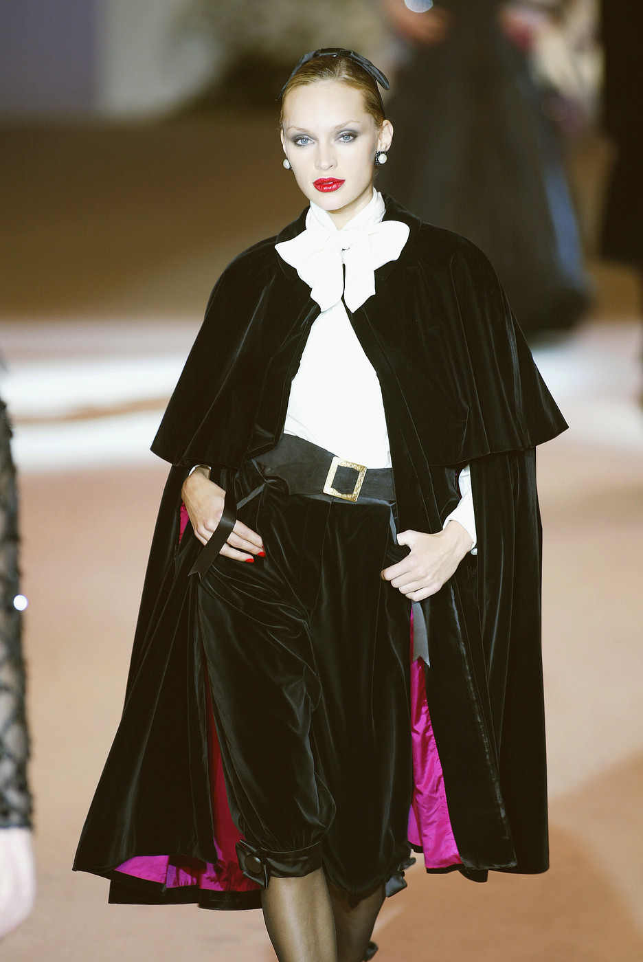 Yves Saint Laurent Spring/Summer 2002 Haute Couture collection via fashioned by love / british fashion blog