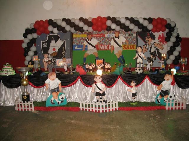 Tema de festa infantil - Vasco da Gama
