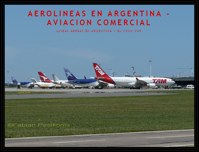 Aerolíneas en Argentinas Aviación Comercial (Fabián Pesikonis)