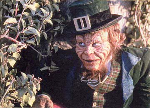 scary picture of leprechaun scary movie 3 sound