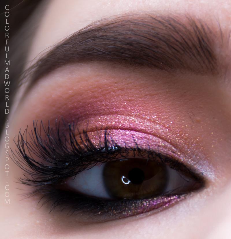 kolorowe smoky eye