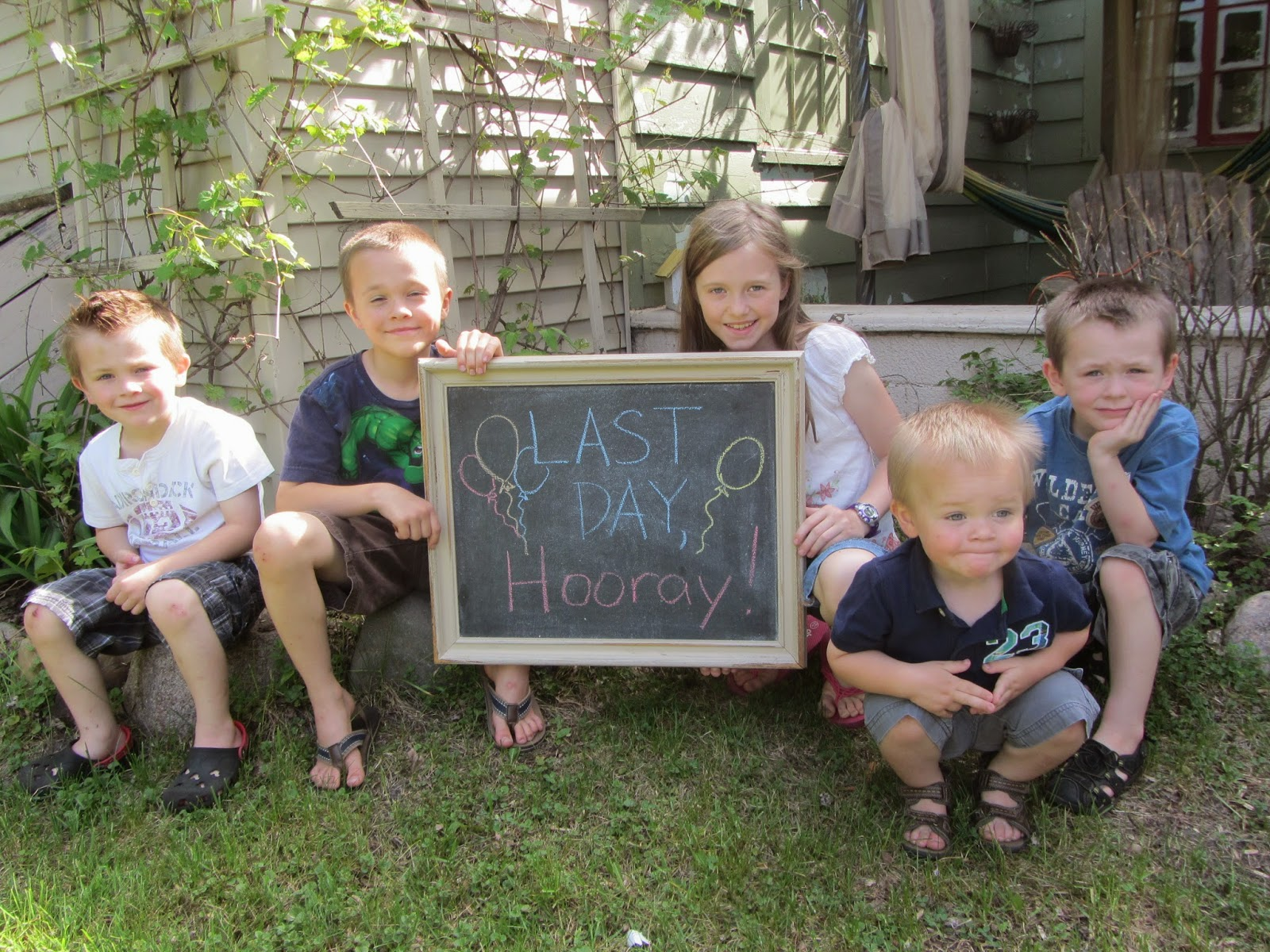 Last Day, Hooray! 2014 {How one family celebrated the last day of homeschool} The Unlikely Homeschool