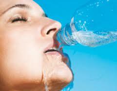 Toma agua al perder peso
