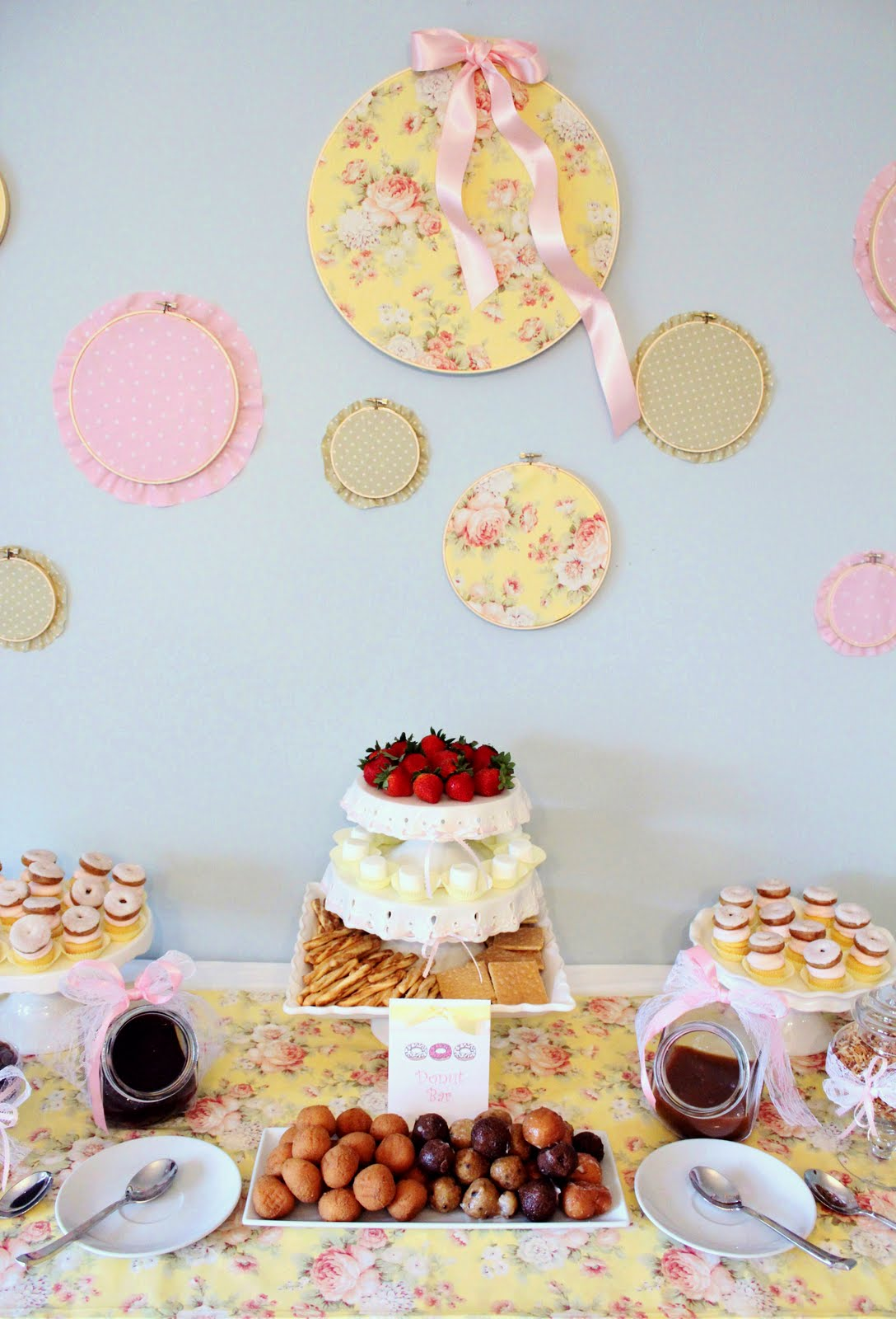 """Icing Designs: """"Sprinkled with Love"""" Donut Baby Shower   1088 x 1600 jpeg 174kB"""