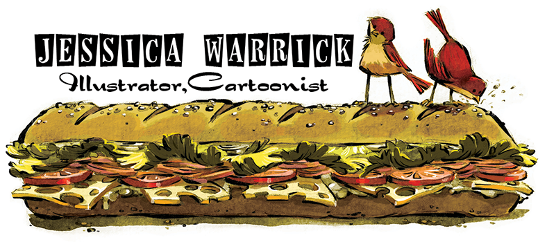Jessica Warrick: Illustrator, Cartoonist