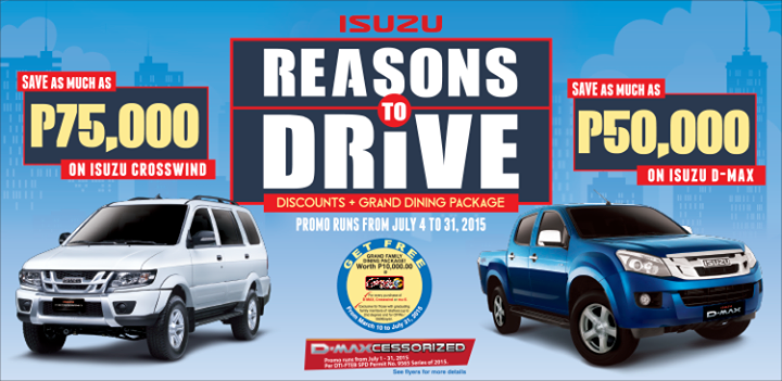 Isuzu Reasons to Drive