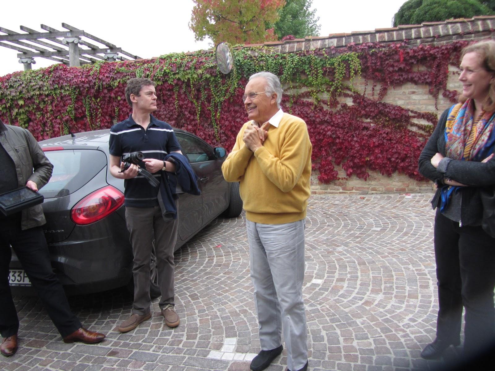Angelo Gaja Winery Tour
