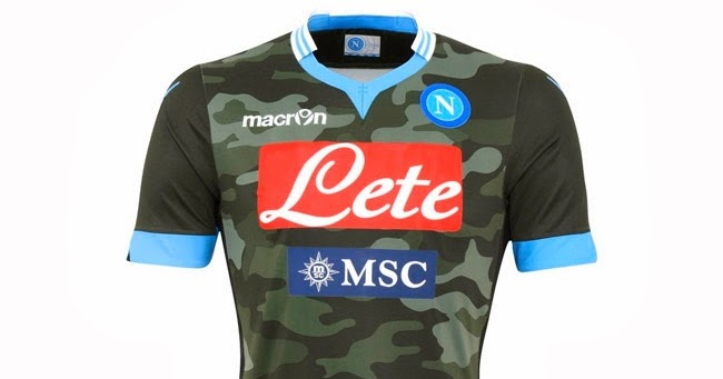 Uniformes X  Napoli 2013 2014 Away d60a67f868fe8