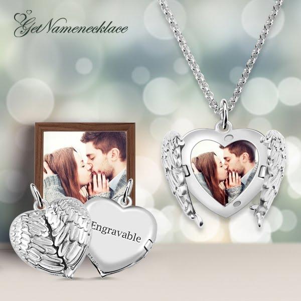 getnamenecklace boyfriend girlfriend jewellery