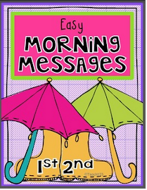 Morning Messages: 1st & 2nd