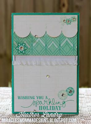 Blingy_Snowflake_Sparkle_Handmade Card