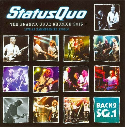 Status Quo – The Frantic Four Reunion – Live From Hammersmith Apollo –  2013