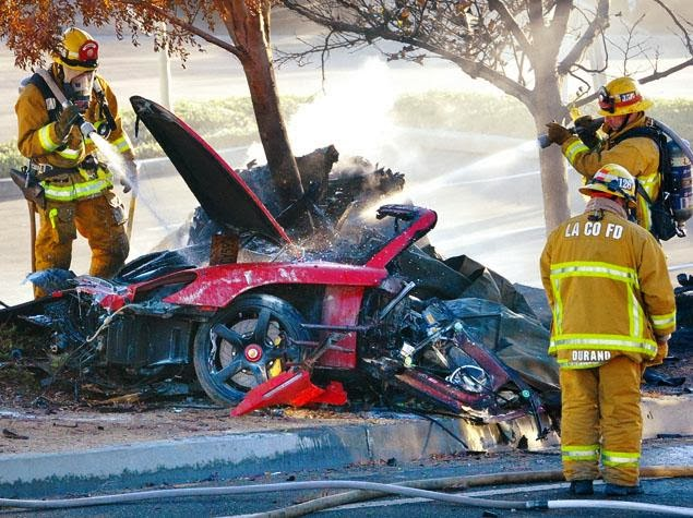 Paul Walker Murió en un accidente automovilístico