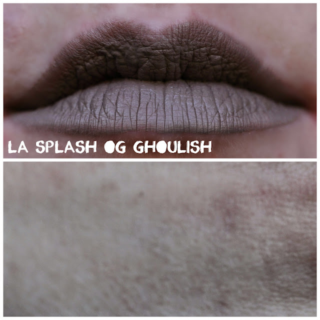 LA Splash Lip Couture in OG Ghoulish