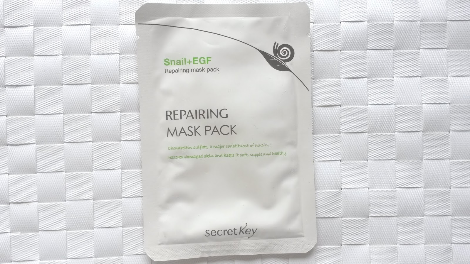 Secret Key Snail+EGF Repairing Mask Pack Review