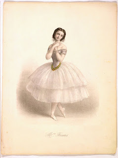 Classical Ballet Vintage Picture of Ballerina