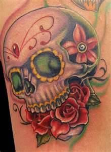 Tribal Rose Tattoos for Men