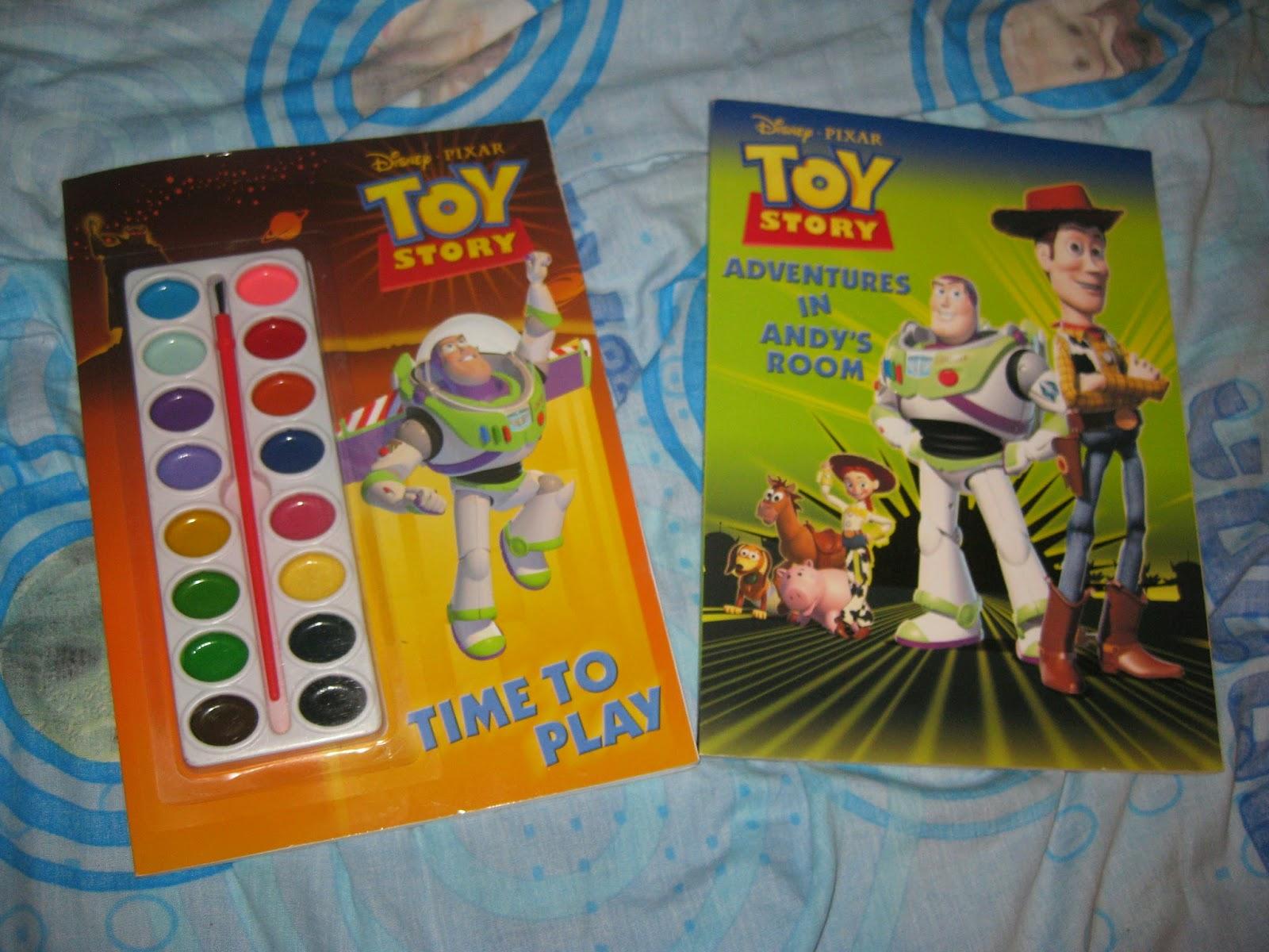 Dan the Pixar Fan: Toy Story 1 2 & 3: Coloring Books