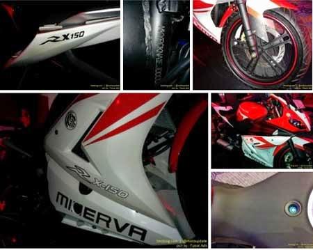 Fairing Minerva RX-150