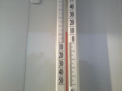 Измеряем температуру на балконе