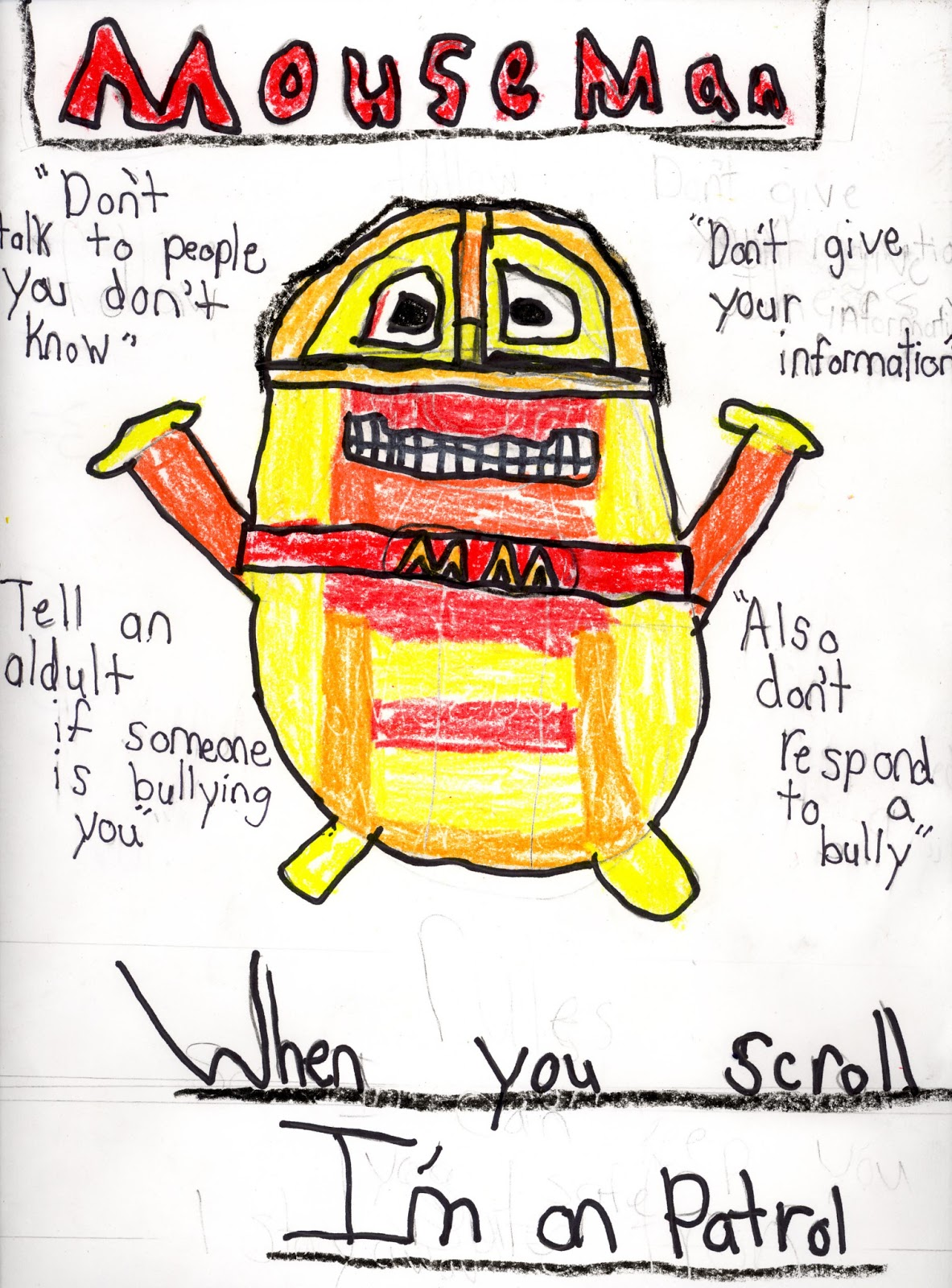 ashaway school library: internet safety poster contest!