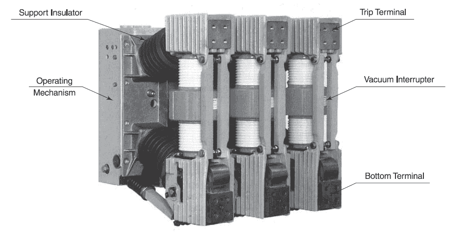 vacuum circuit breaker vcb principle construction and working medium voltage vacuum circuit breaker