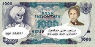 Uang yang berjenis kelamin
