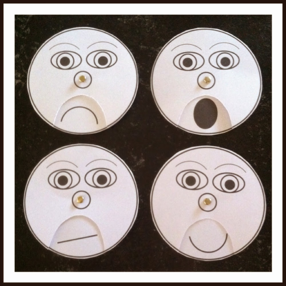 emotion wheel for kids pdf