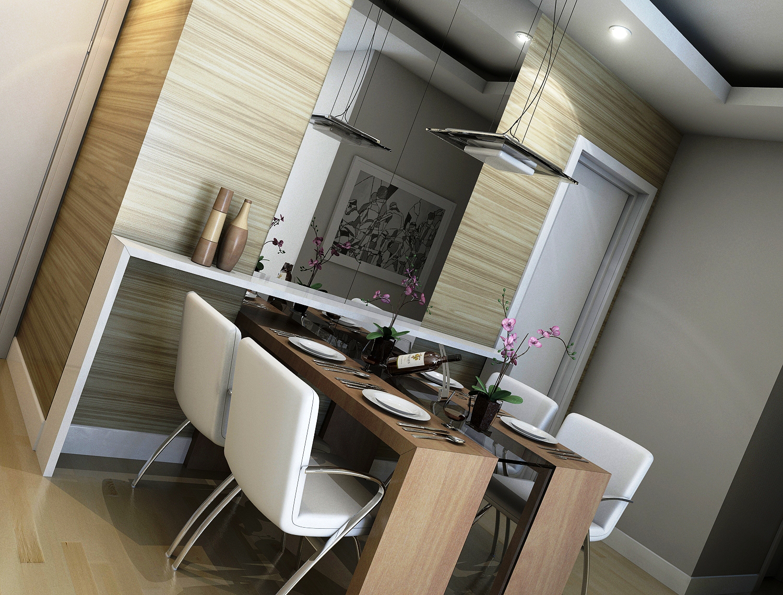 Pruzak Com Mesa De Vidro Para Sala De Jantar Pequena Id Ias  -> Sala De Jantar Retangular Pequena