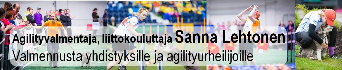 Agilityvalmentaja, liittokouluttaja Sanna Lehtonen