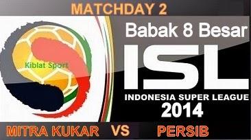 Hasil Pertandingan Mitra Kukar Vs Persib Bandung, Babak 8 Besar ISL 2014