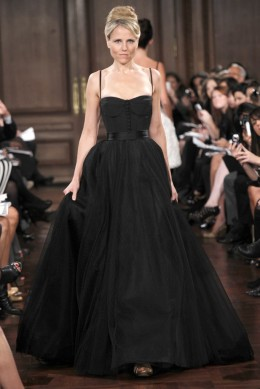 Wedding Lady: Black Wedding Gowns 2012