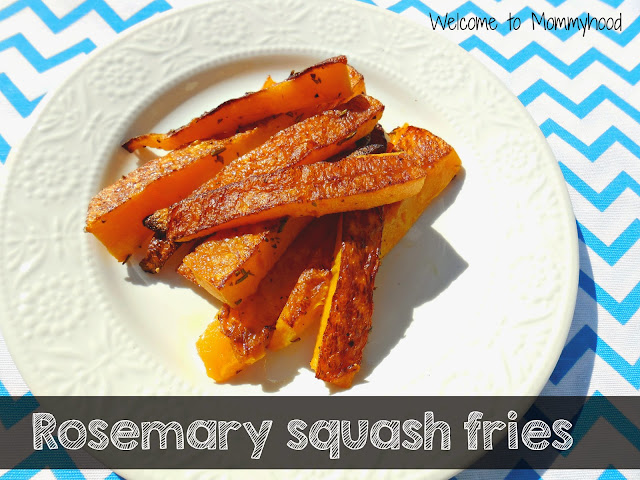 Rosemary butternut squash fries: Healthy Butternut Squash Recipes by Welcome to Mommyhood #paleo #vegan #easyhealthyrecipes