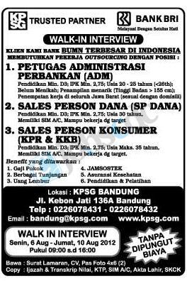 Lowongan Kerja Jobsdb Bandung