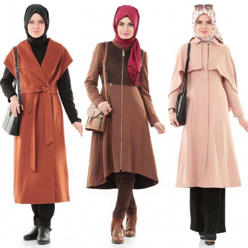 Styles De Manteaux Hijab Hiver 2016 Hijab Chic Turque Style And Fashion