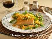Losos so zeleninou - recept