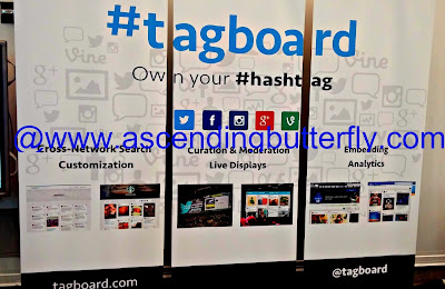 #tagboard Booth Engadget ExpandNY 2013 Technology Tradeshow