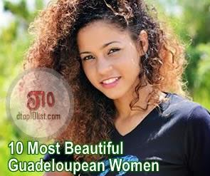 Top 10 Most Beautiful Guadeloupean Women