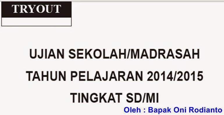 Arsip Soal Dan Kunci Jawaban Us Sd Mi Mei 2014 2015
