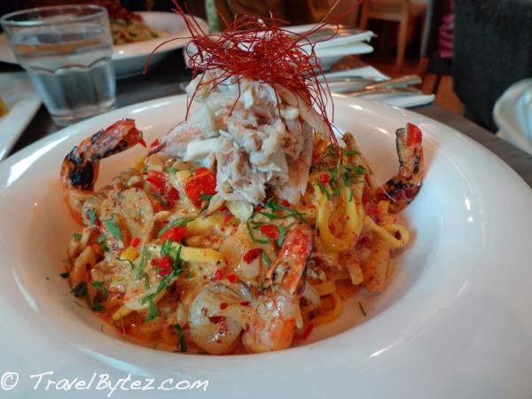 Spicy 'Diablo' Crab & Prawn